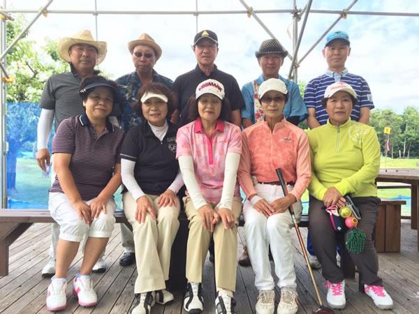 パークゴルフ石山「男女ペアマッチ」大会結果