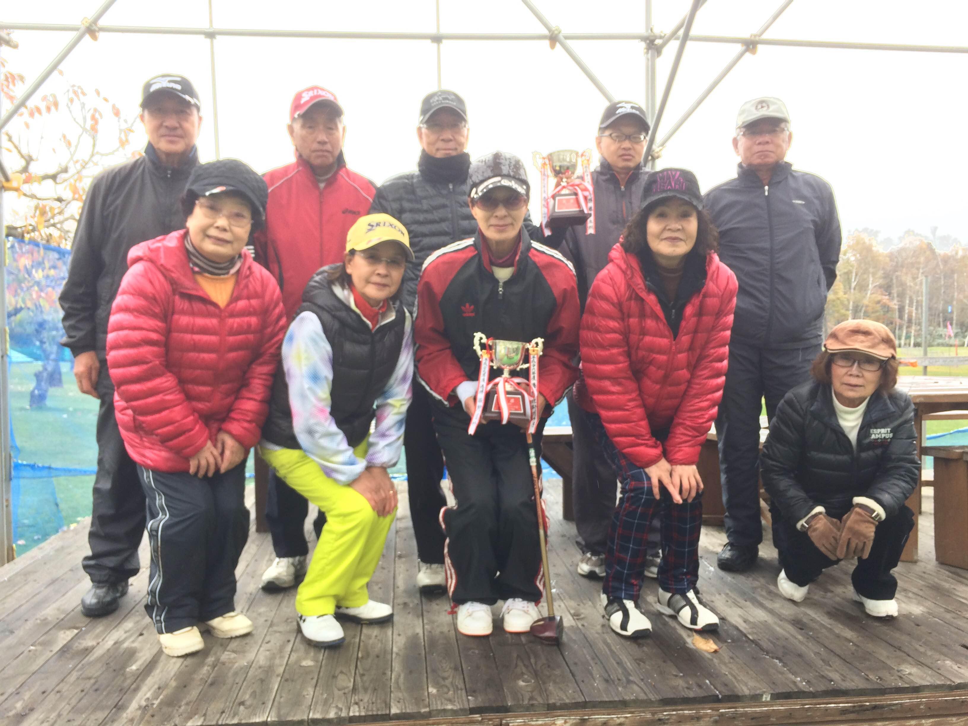パークゴルフ石山「平成28年度チャンピオン大会」大会結果