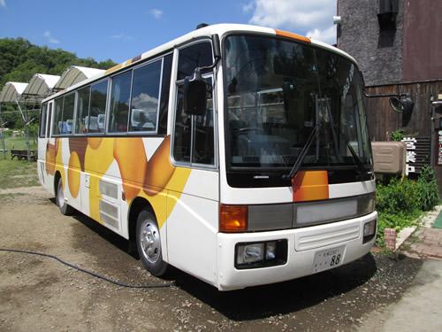 吉田観光農場47人乗りマイクロバス