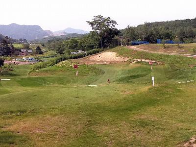 札幌パークゴルフ場石山 2011年の様子