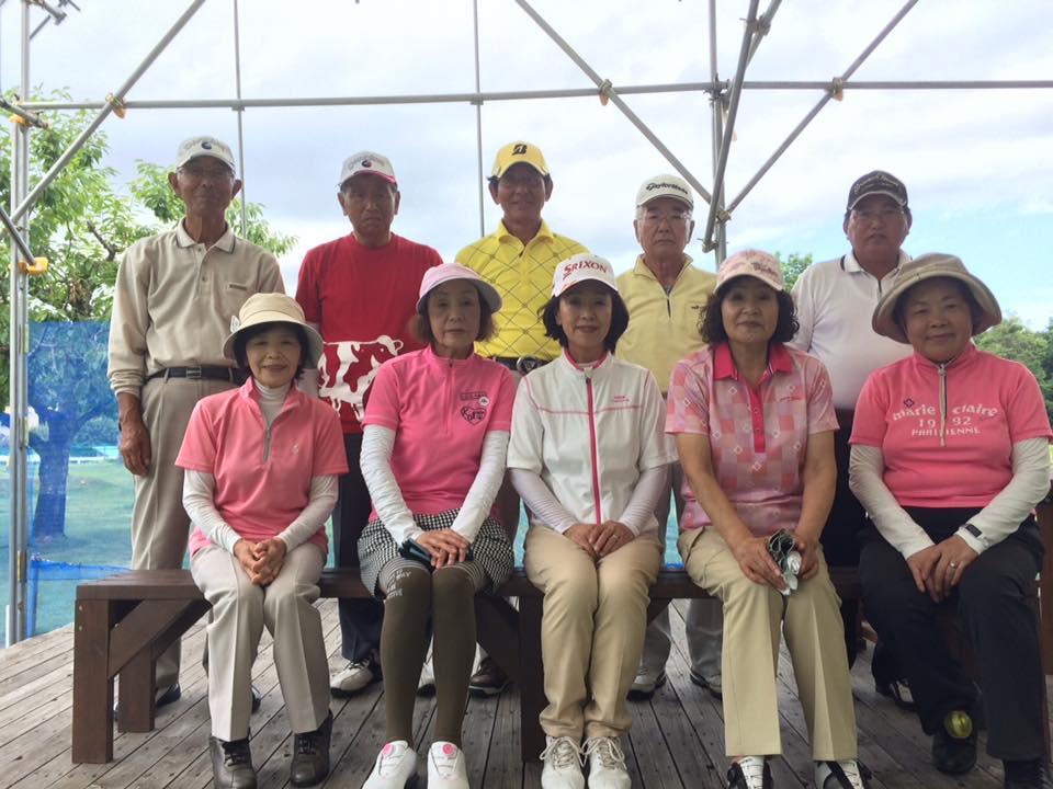 パークゴルフ石山「月例大会8月」大会結果
