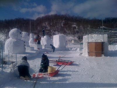 雪まつり 2011年