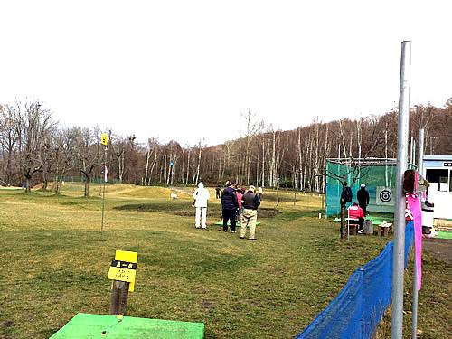 吉田農場のパークゴルフ石山