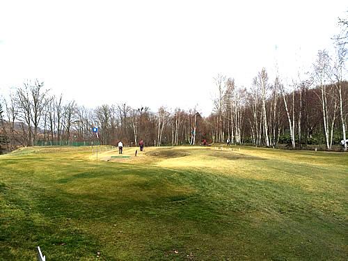 パークゴルフの広々としたコース